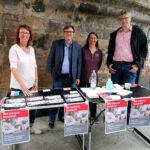 Besuch von der SPD: MdB Dr. Martin Rosemann (Mitte) und Andreas Weber, Kreisvorsitzender